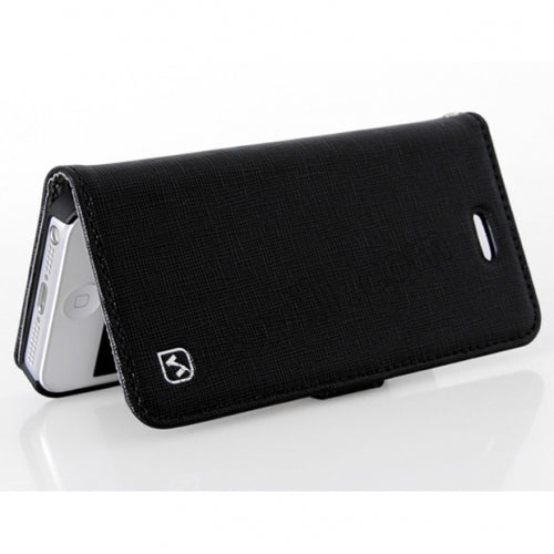 HOCO Happy Series Leather Case for iPhone 5/5s - Black - Gearlyst