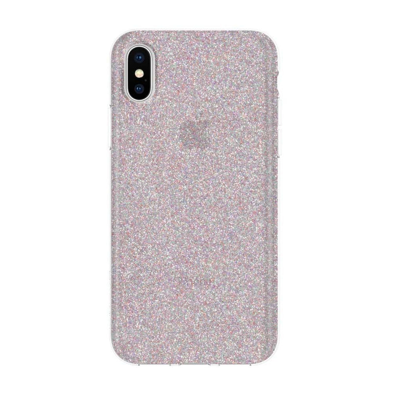 Incipio Design Series Rigid Hard Shell Case for iPhone XS/X - MULTI-GLITTER - Gearlyst