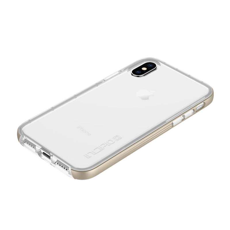 Incipio Octane LUX Slim Protective Case for iPhone XS/X - Gold - Gearlyst