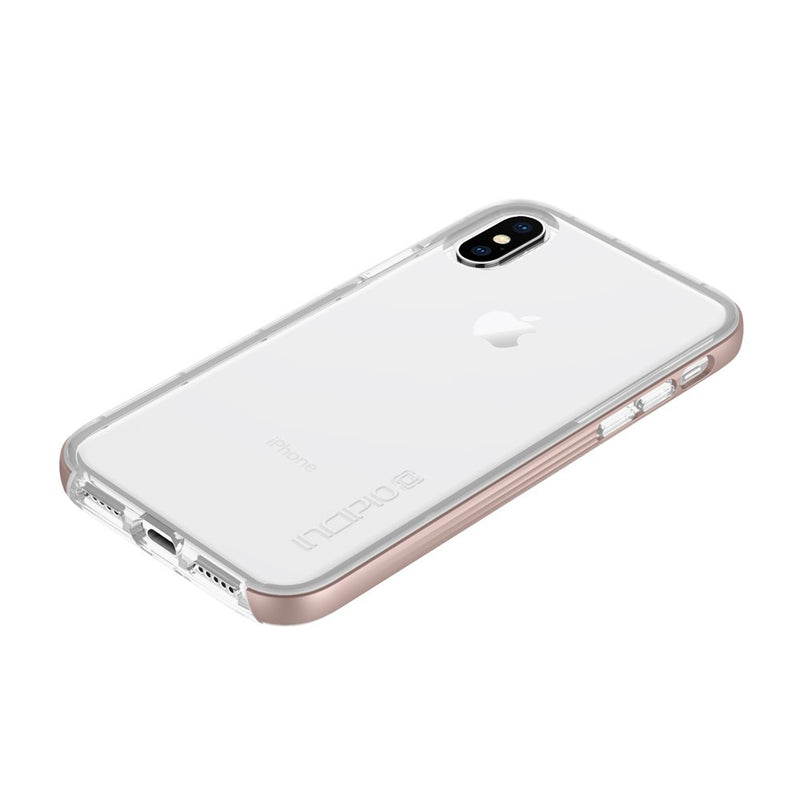 Incipio Octane LUX High-Impact Protection Caes for iPhone XS/X - Rose Gold - Gearlyst