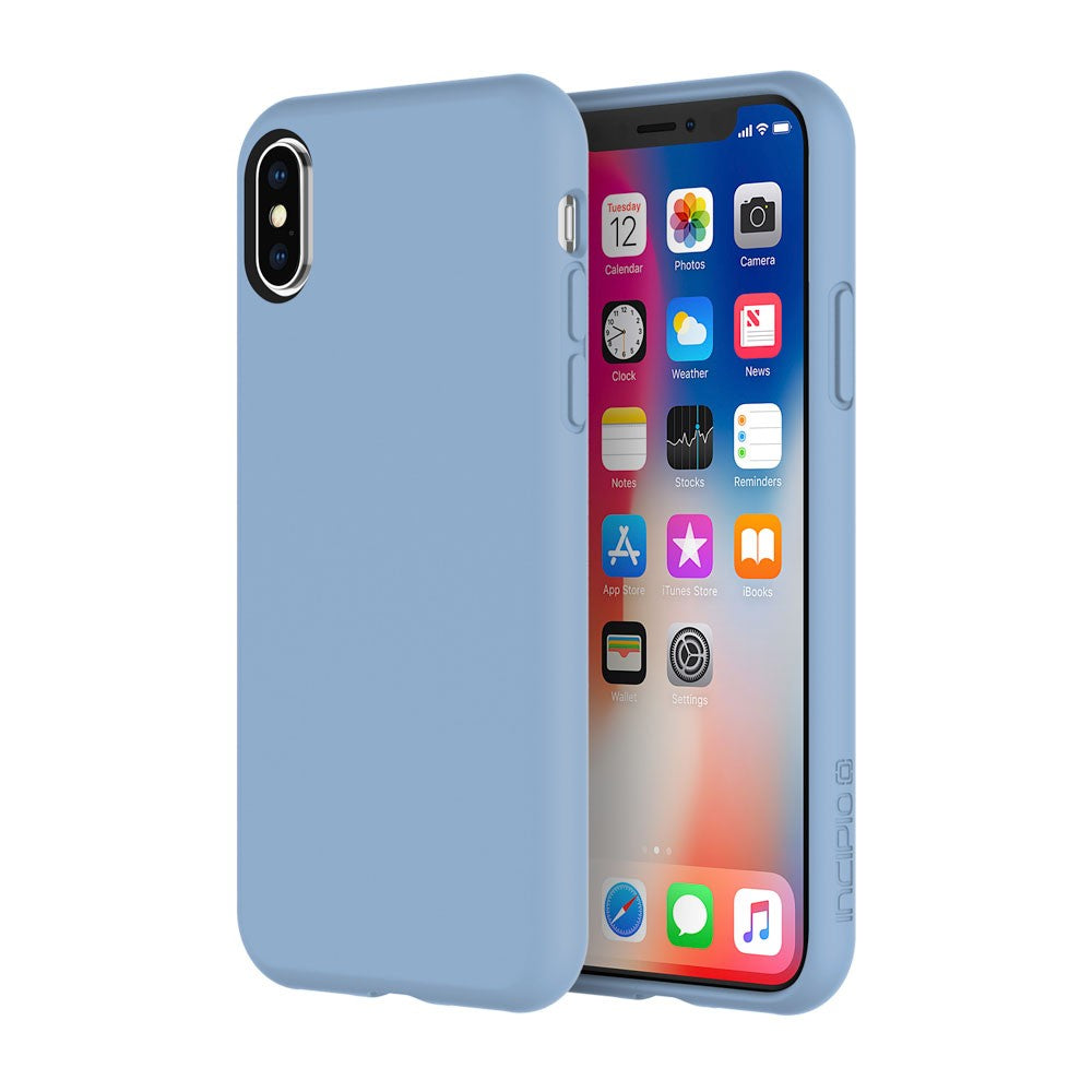 Incipio Siliskin Ultra-Smooth Slim Sleek Case for iPhone XS/X - Powder Blue - Gearlyst