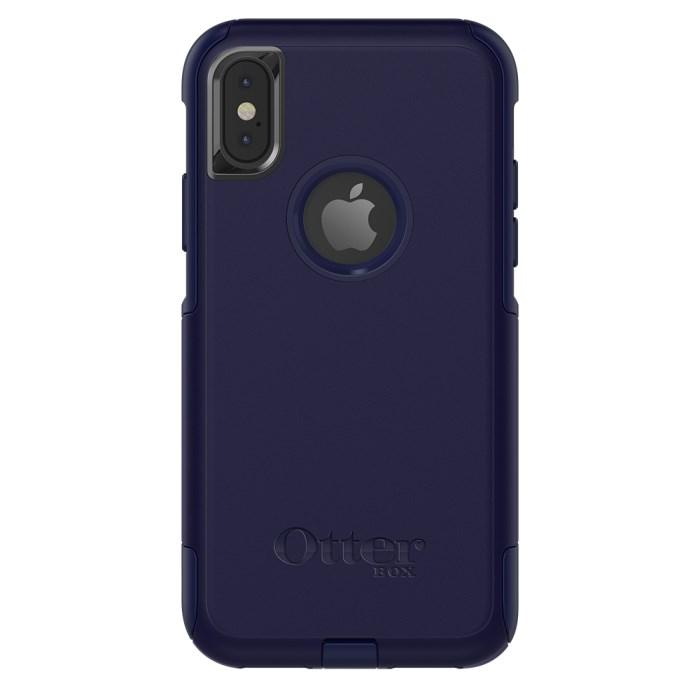 OtterBox Commuter Slim Tough Case for iPhone XS/X - Indigo Way - Gearlyst