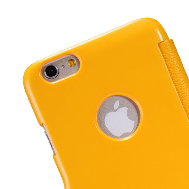 Nillkin Fresh iPhone 6 Plus /6s Plus super Slim Magnetic Closure Case - Yellow - Gearlyst