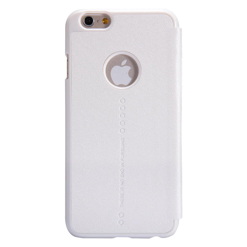 Nillkin iPhone 6 Plus /6s Plus Sparkle Leather Wallet Case - White - Gearlyst