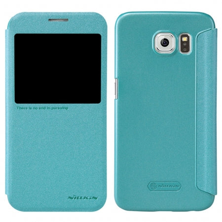 Nillkin Samsung Galaxy S6 Sparkle Smart Case - Auto Sleep Wake-up - Gearlyst