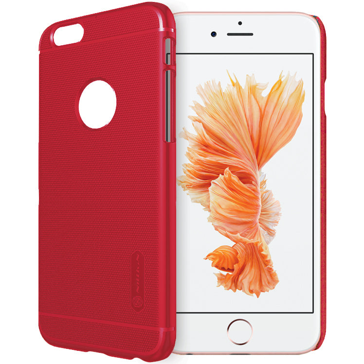 Nillkin Super Frosted Shield Case for iPhone 6 Plus / 6s Plus - Red - Gearlyst