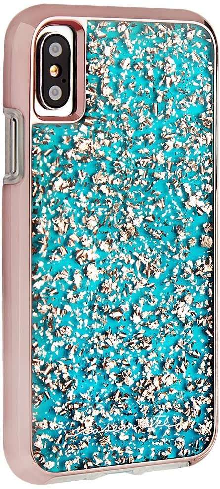Case-Mate Karat Case for iPhone XS/X - Turquoise