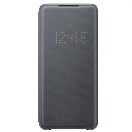 Official Samsung Galaxy S20 Ultra LED View Smart Cover - Grey - Gearlyst