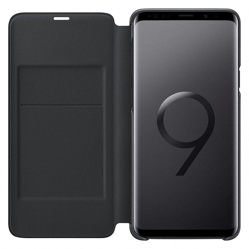 SAMSUNG LED VIEW CASE FOR SAMSUNG GALAXY S9 - BLACK - Gearlyst