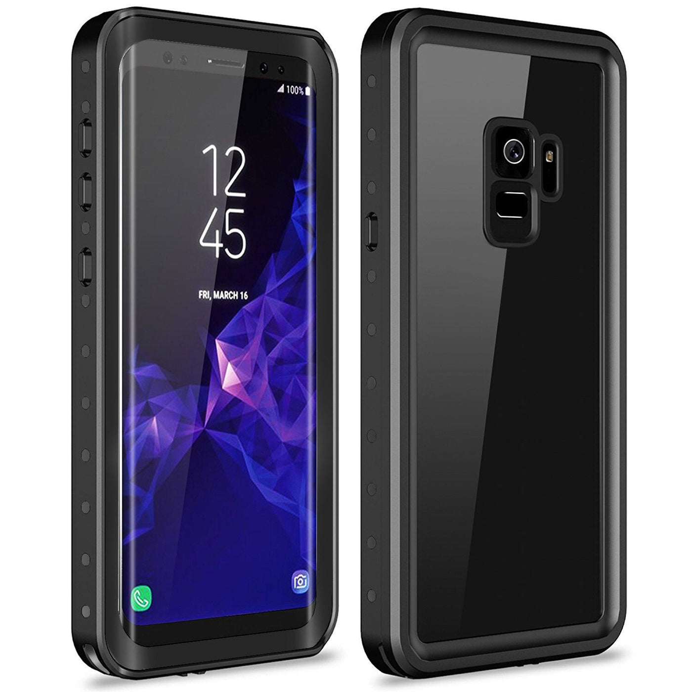 new styles 86268 bad64 Samsung Galaxy S9+ Plus WaterProof ShockProof Rugged Case DOTPRO