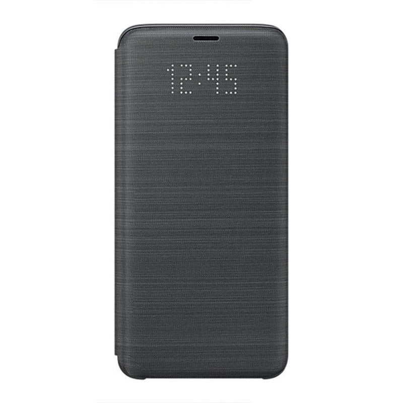 Genuine Samsung LED View Case for Galaxy S9 Plus - Black - Gearlyst