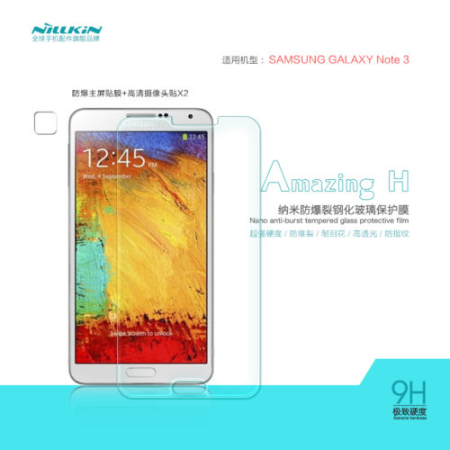 NILLKIN 9H H+ Tempered Glass Screen Protector for Samsung Galaxy Note 3 - Gearlyst