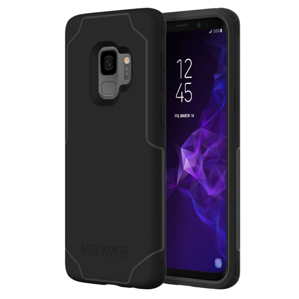 reputable site aa30e 64135 Griffin Survivor Strong ShockProof Case for Galaxy S9 - Black/Grey