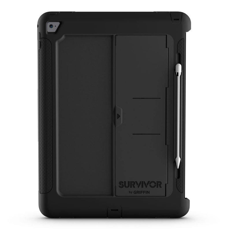 "Griffin Survivor Slim Strong Kickstand Case for iPad Pro 9.7"" - Black - Gearlyst"