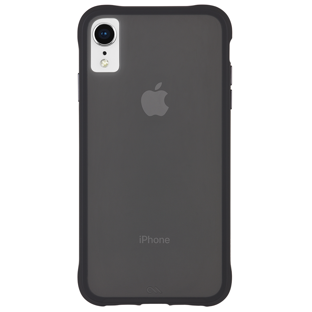 "Case-Mate Tough Street Case for iPhone XR (6.1"") - Translucent Black - Gearlyst"