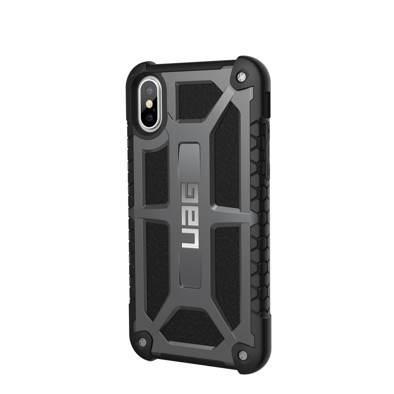 UAG Monarch Ultra Light Rugged Case for iPhone X/Xs - Graphite