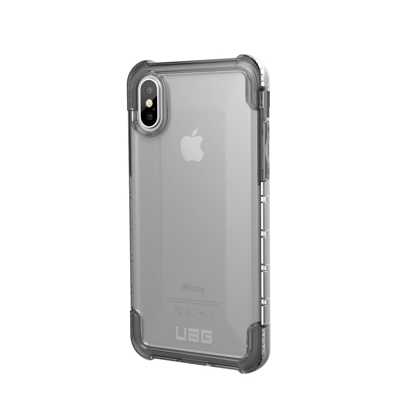 UAG Plyo Armour Shell Impact Resistant Case for Apple iPhone X/Xs -Ice - Gearlyst