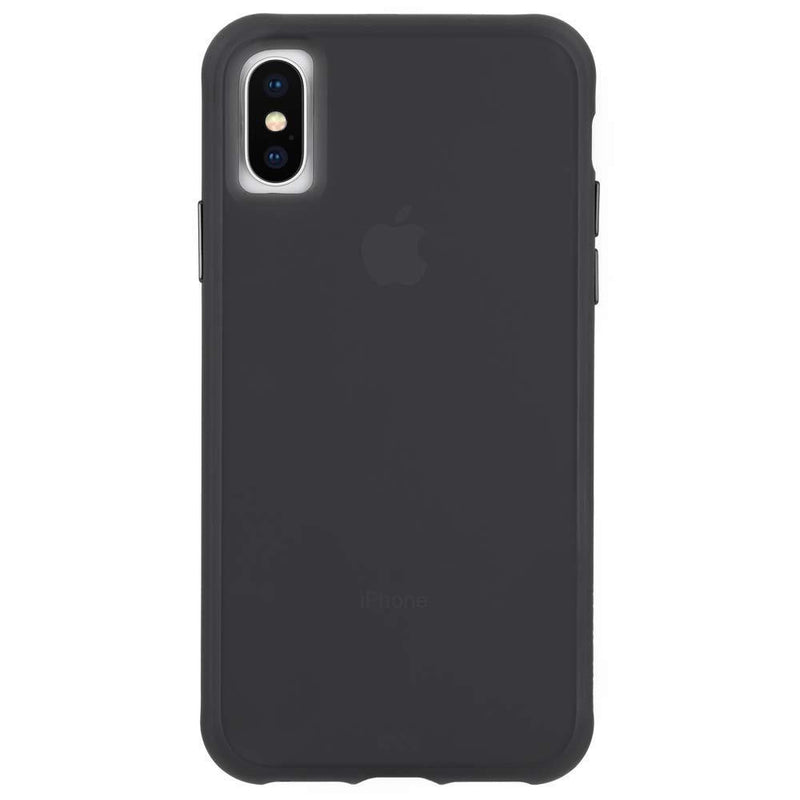 "CASE-MATE TOUGH STREET CASE SUITS IPHONE X/XS (5.8"") - TRANSLUCENT BLACK - Gearlyst"