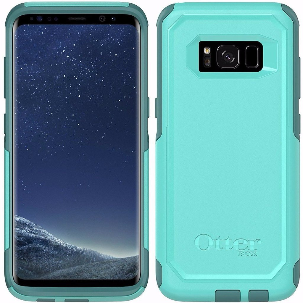 OtterBox Commuter Slim Slick Case for Samsung Galaxy S8+ - Aqua/Green