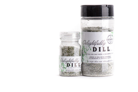 Lemon dill sea salt gourmet seasoning blend