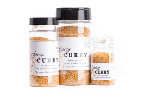 Spicy Curry Gourmet Sea Salt