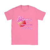 Nannys Are Mommies With Frosting T-Shirts