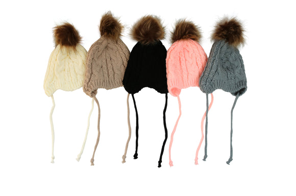 Fur Crochet Hats