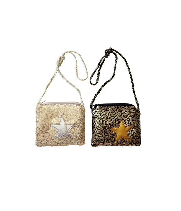Sequin Star Purse