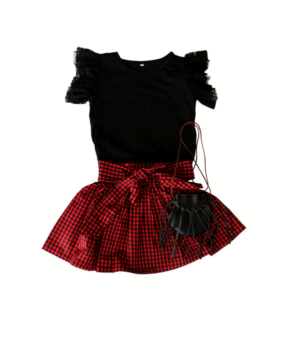 BOXED OUTFIT - Buffalo Plaid Set
