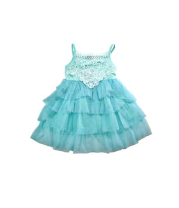 Light Blue Lace/Tulle Dress