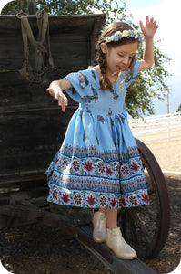 Blue Holland Dress