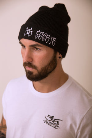 LOGO WATCHCAP BEANIE - EMBROIDERED