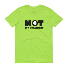 Not My President Trump Silhouette Bright T-shirt