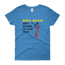 Wakanda Dora Milaje Ain't Nothing to Mess With Women's short sleeve t-shirt