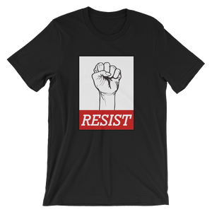 Resist with Raised Fist T-shirt