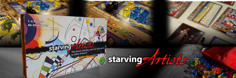 Starving Artist Is Live on Kickstarter!