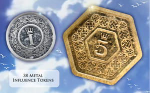 Somnium: Deluxe Influence Metal Tokens
