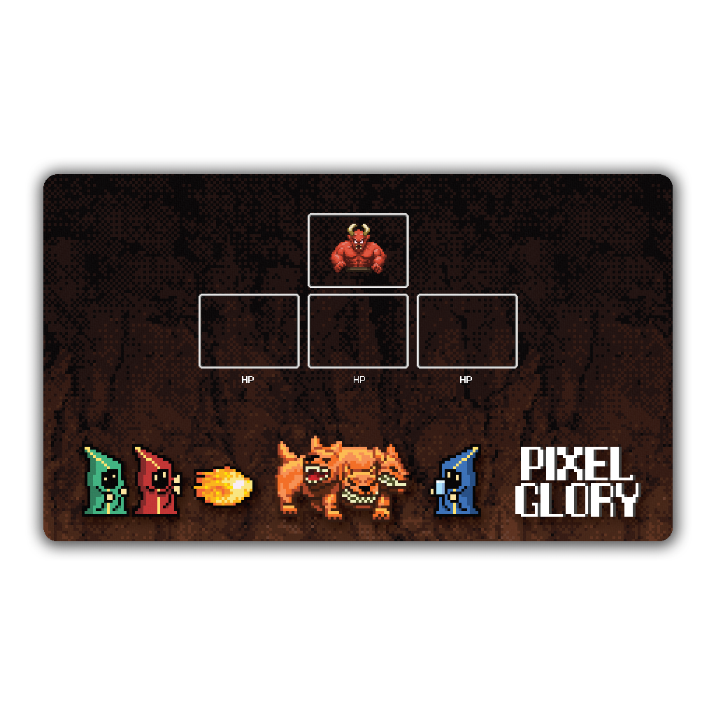 Pixel Glory Playmat