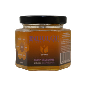 Hemp Blossoms Alfalfa Honey