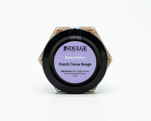 Dutch Cocoa Rouge Honey Butter.
