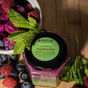 Dragonberry Mint Honey Butter