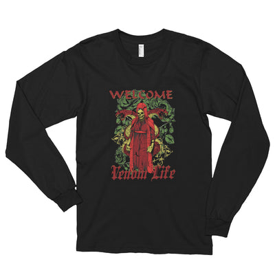 ''Welcome venom life'' Long sleeve t-shirt (unisex)