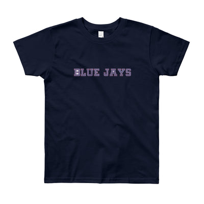 ''Blue jays'' Youth Short Sleeve T-Shirt