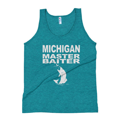 ''Michigan master baiter'' Unisex Tank Top