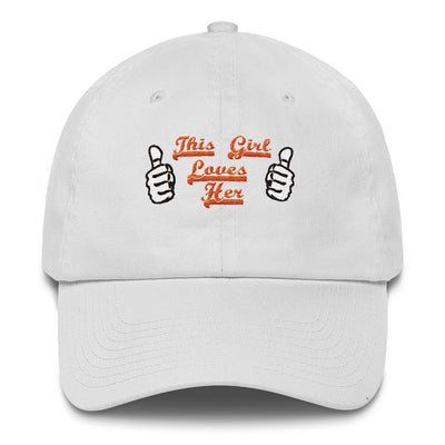 ''this girl loves her'' Cotton Cap