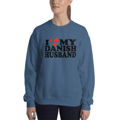 ''I LOVE MY DANISH HUSBAND'' Sweatshirt