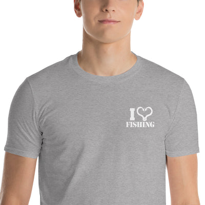 I love fishing Short-Sleeve T-Shirt