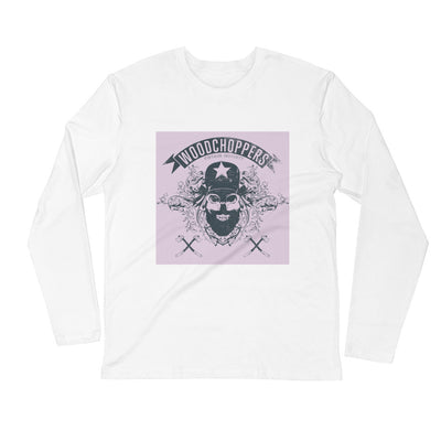 ''Woodchoppers'' Long Sleeve Fitted Crew