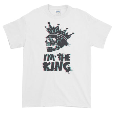 ''I'm the king'' Short-Sleeve T-Shirt