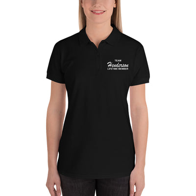 Team Henderson Embroidered Women's Polo Shirt